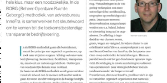 Stadswerk magazine 5 - 1